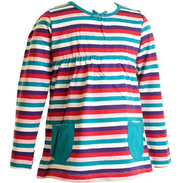 Girls Yarn Dyed Stripe A-Line Top (6-23mnths 6 Pack) - (2-6yrs 6 Pack)